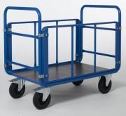 Chariot à 4 côtés tubulaires - Charge en Kg: 500