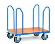 Chariot à arceaux et ridelles - Charge (kg) : 500 ou 600