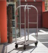 Chariot à bagage hôtel - Le chariot cloche de prestige