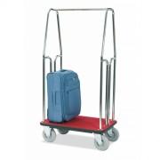 Chariot à bagages finition chromé ou laiton - Existe en deux versions : Small ou Large