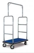 Chariot à bagages pour hôtels - Dimensions (l x L x H) cm :110 x 68 x 183