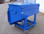 Chariot à benne basculante - Adapté au transport et tri sélectif de déchets industriels