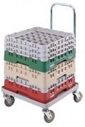 Chariot à casier - Charge limite : 160 kg