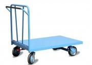 Chariot à dossier fixe - Capacité : 500 kg - plateforme avec freins