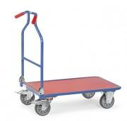 Chariot à dossier fixe pour manutention - Charge (kg) : 400