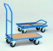 Chariot à dossier pliable - Charge (kg) : 150 ou 250