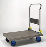 Chariot à dossier pliable polypropylène - Charge (kg) : 150 ou 300