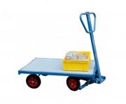 Chariot à essieu pivotant - Charge utile : 500 Kg