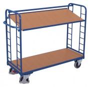 Chariot à étagères inclinables - Capacité de charge : 250 - 400 kg
