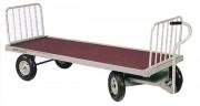 Chariot à foin 4 roues - Capacité : 800 Kg