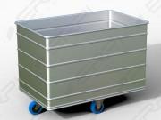 Chariot à fond fixe - Finition : Aluminium anodisé