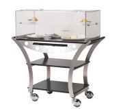 Chariot à fromage pour restaurant  - Dimensions : (L x P x H) 1130 x 525 x 1220 mm