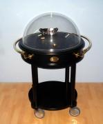 Chariot à fromages hêtre massif - Diamètre : 71 cm - Hauteur : 110 cm