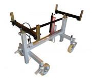 Chariot à géométrie variable - Charge utile (Kg) : 1000