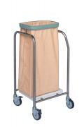 Chariot à linge 1 à 4 sacs - Dimensions (LxPxH) : 40 - 45 - 97 - 150 x 47 x 90 cm