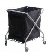 Chariot à linge pliant - Chariot à linge faible encombrement  -  Capacité 370 Litres