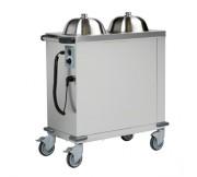 Chariot à niveau constant pour assiettes - Dimensions (L x l x H) mm 998 x 442 x 1049