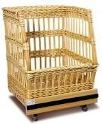 Chariot à pain debout - Dimensions (L x P x H) cm : 68 x 80 x 82