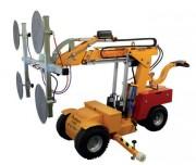 Palonnier à ventouse tout-terrain - Capacité de charge : 608 Kg - Hauteur levage : 4200 mm