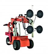 Chariot à palonnier ventouses soulève 408 kg - Hauteur de levage : 2 800 mm