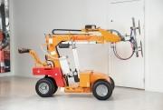 Chariot à palonnier ventouses soulève 408 kg - Hauteur de levage : 3 250 mm