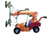 Chariot à palonnier ventouses soulève 608 kg - Hauteur de levage : 3 400 mm