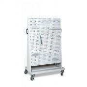 Chariot à plaques perforées - Dimensions (LXPXH) en mm : 985x625x1700