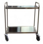 Chariot à plateaux en inox - Charge utile : 120 - 200 Kg