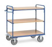 Chariot à plateaux modulables - Charge (kg) : 500 - 600