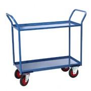 Chariot à plateaux tôlés - Charge utile (Kg) : 400