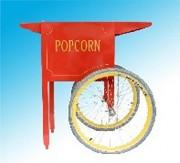 Chariot à pop corn - Dimensions (cm) : 77 x 55 x 92