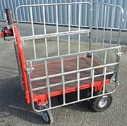 Chariot à ridelle industriel - Capacité : 2000 Kg
