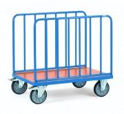 Chariot à ridelles latérales - Charge (kg) : 600 / Norme Européenne EN 1757-3
