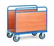 Chariot à ridelles latérales fixes - Charge (kg) : 600 - Norme Européenne 17573