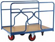Chariot à ridelles pour charge longues - Charge utile (Kg) : 500