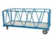 Chariot à ridelles pour charge lourde - Charge utile (Kg) : 1200