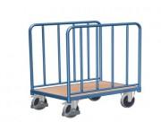 Chariot à ridelles tubulaires - Capacité de charge : 500 kg