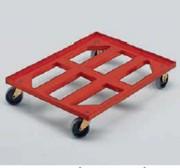 Chariot à roues nylon et chape inox 800 X 600 - 99826