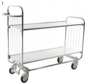 Chariot à tablettes ajustables - Capacité de charge : 250 kg