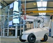Chariot à ventouse - Capacité de charge : Jusqu'à 380 kg