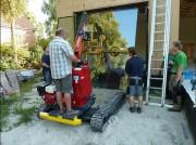 Chariot à ventouse châssis à chenille - Charge utile : 900 Kg  -  Hauteur de travail : 5 m
