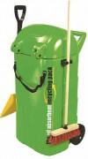 Chariot absorbant pour hydrocarbures - Dimensions (L x l x h) : 72 x 65 x 110 cm