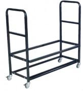 Chariot acier pour chaises pliantes - Capacité : 24 - 48 ou 96 chaises