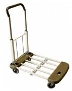 Chariot aluminium à dossier rabattable - Charge utile (kg) : 150