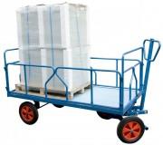 Chariot avant train à ridelles - Charge utile (Kg) : 1000