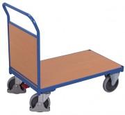Chariot avec dossier bois - Capacité de charge : 400 ou 500 kg