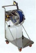 Chariot avec enrouleur inox304 agroalimentaire - 3ENR800CHA-VP500