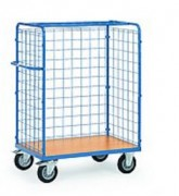 Chariot avec panneaux en treillis métallique - Charge (kg) : 500 ou 600