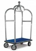 Chariot bagagiste d'hôtellerie - Dimensions (l x L x H) cm : 115 x 70 x 205