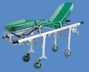 Chariot-brancard aluminium - Poids : 29 kg